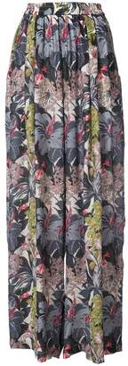 Tome floral palazzo trousers