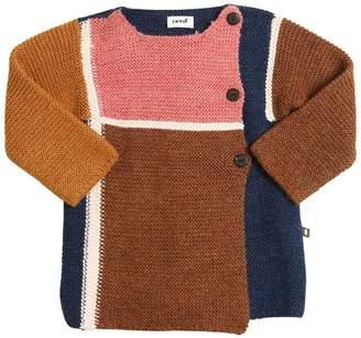 Oeuf Mondrian Baby Alpaca Tricot Coat
