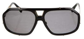Dolce & Gabbana Polarized Aviator Sunglasses