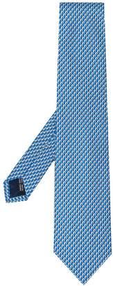Salvatore Ferragamo dolphin print tie