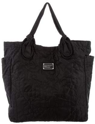 Marc Jacobs Marc by Embroidered Nylon Tote