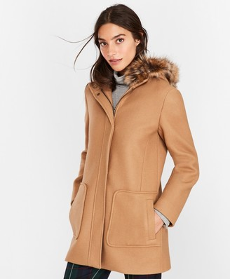 Brooks Brothers Double-Knit Wool-Blend Coat