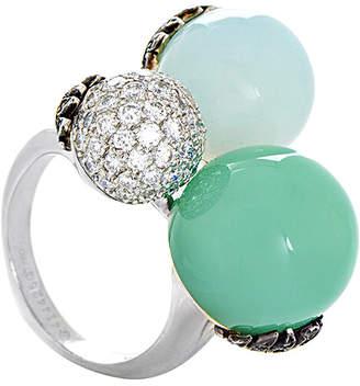 Carrera Y Hidden 18K 1.36 Ct. Tw. Diamond & Gemstone Ring
