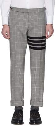 Thom Browne Stripe houndstooth check plaid wool pants