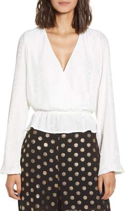 Show Me Your Mumu Snow Cheetah Silky Blouse