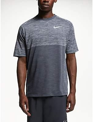 20d3e0a72 Nike Dry-FIT Medallist Running Top, Atmosphere Grey/Obsidian