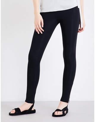 Helmut Lang Ladies High-Rise Stretch-Jersey Leggings