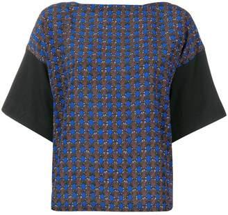 Marni geometric pattern blouse