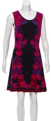 Diane von Furstenberg Printed A-Line Dress