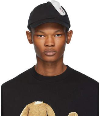 Palm Angels Black Anti-Theft Cap