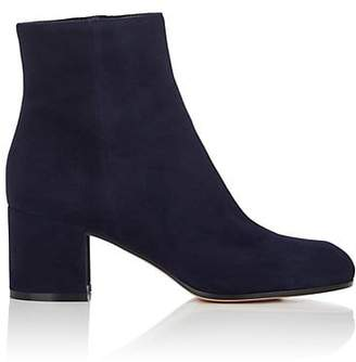 Gianvito Rossi Women's Margaux Suede Ankle Boots - Navy
