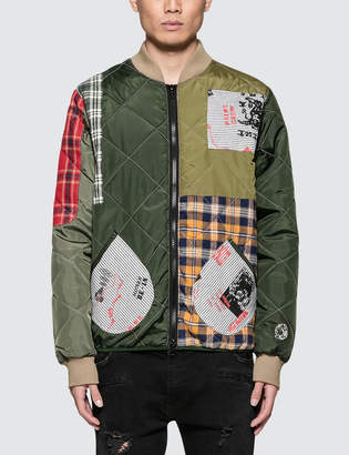 Billionaire Boys Club Patchwork Liner Jacket