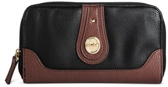 Bolo Women's Faux Leather Wallet with Back/Interior Compartments - Black $17.99 thestylecure.com