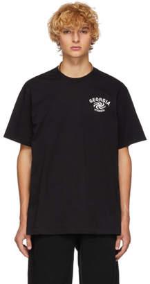 Vetements Black Georgia T-Shirt