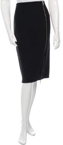 Michael Kors Wool Knee-Length Skirt w/ Tags