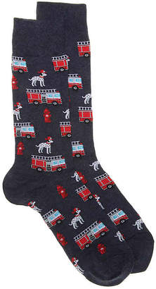 Hot Sox Fireman Crew Socks - Men's