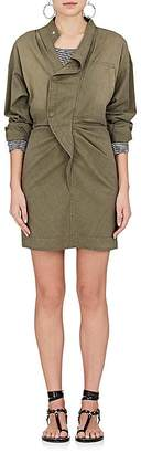 Etoile Isabel Marant Women's Lindsey Cotton-Blend Shirtdress