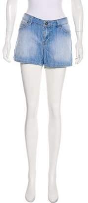 Calvin Klein Jeans Mid-Rise Denim Shorts