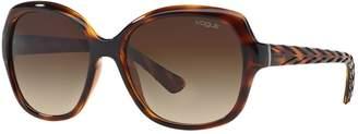 Vogue VO2871S 56mm Square Gradient Sunglasses