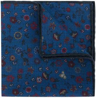 Canali floral print handkerchief