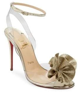 Christian Louboutin Fossiliza 100 Glitter Sandals