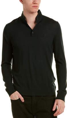 The Kooples Merino Wool Polo Shirt