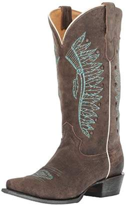 Roper Women's Chiefs Western Boot 9.5 D US