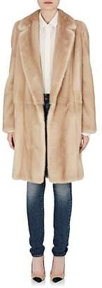 Saint Laurent Women's Mink-Fur Coat