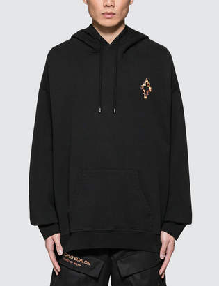 Marcelo Burlon County of Milan Fire Cross Hoodie