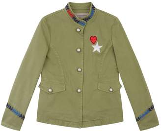 Ermanno Scervino Collarless Military Jacket