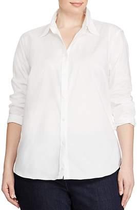 Lauren Ralph Lauren Plus Classic No-Iron Shirt