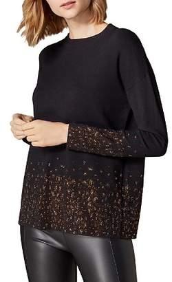 Karen Millen Embellished Leopard Sweater