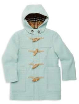 Burberry Little Girl's& Girl's Burford Wool Duffel Coat