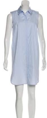 Alexander Wang Button-Up Mini Dress