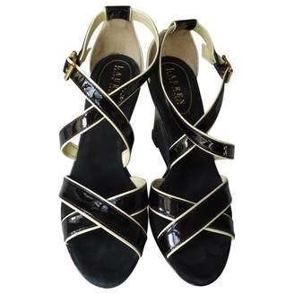 Lauren Ralph Lauren Black Patent leather Sandals