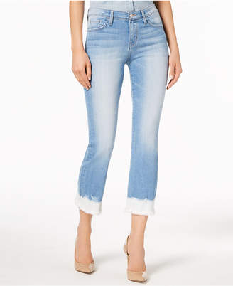 Flying Monkey Frayed Dip-Dye Jeans