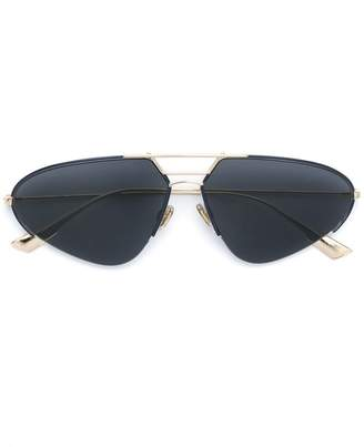 Christian Dior aviator shaped sunglasses