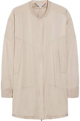 Stella McCartney Gregory Oversized Silk Crepe De Chine Jacket