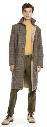 Todd Snyder Made in New York Reversible Mac Trench in Brown
