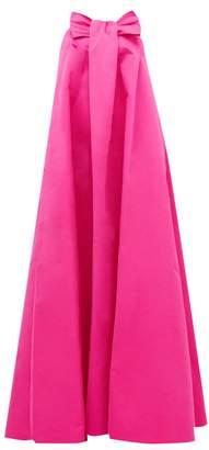 Rochas Piastra Radsmir Bow Front Taffeta Gown - Womens - Fuchsia