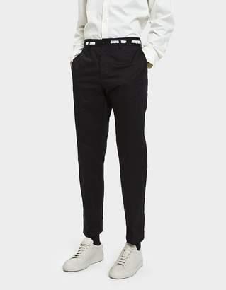 Maison Margiela Cotton Garbadine Trousers