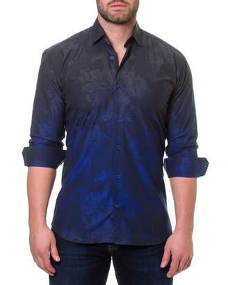 Maceoo Luxor Mariana Ombre Jacquard Sport Shirt