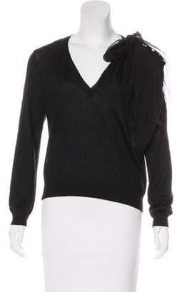 Nina Ricci Cashmere & Silk-Blend Sweater