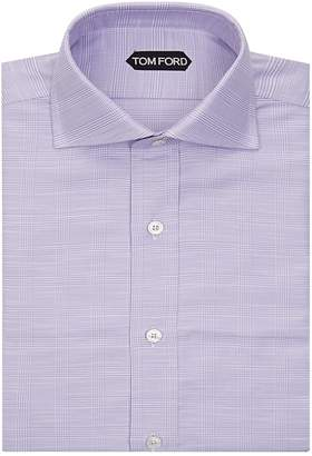 Tom Ford Spread Collar Check Shirt