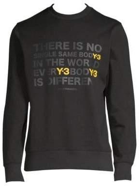 Y-3 Artwork Logo Sweatshirt