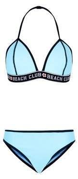New Look Girls Turquoise Scuba Bikini
