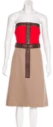 Derek Lam Strapless Midi Dress w/ Tags