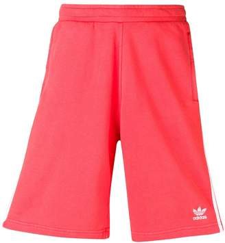 adidas knee length track shorts
