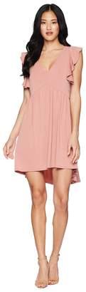 BCBGeneration Ruffle Dress Women's Dress