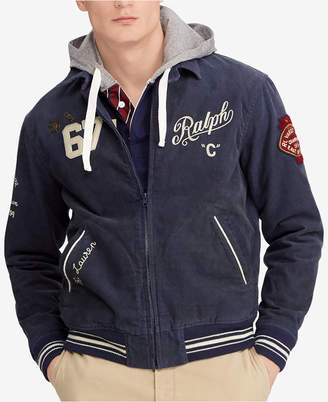 Polo Ralph Lauren Men's Embroidered Corduroy Jacket
